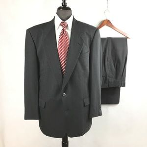 Pierre Cardin pin striped wool suit